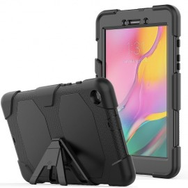 Heavy Duty Case Samsung Galaxy Tab A 8.0 (2019) Hoesje - Zwart