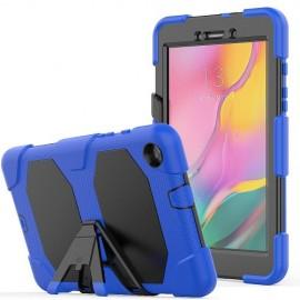 Heavy Duty Case Samsung Galaxy Tab A 8.0 (2019) Hoesje - Blauw