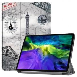 Tri-Fold Book Case iPad Pro 11 (2020) Hoesje - Eiffeltoren