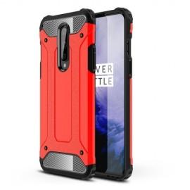 Armor Hybrid OnePlus 8 Hoesje - Rood