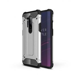 Armor Hybrid OnePlus 8 Pro Hoesje - Zilver