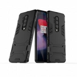 Armor Kickstand OnePlus 8 Pro Hoesje - Zwart