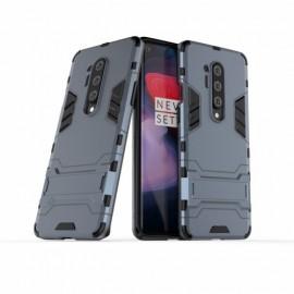 Armor Kickstand OnePlus 8 Pro Hoesje - Blauw