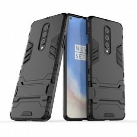 Armor Kickstand OnePlus 8 Hoesje - Zwart