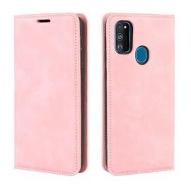 Premium Book Case Samsung Galaxy M21 Hoesje - Pink