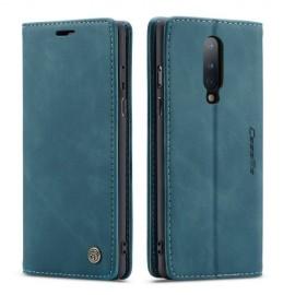 CaseMe Book Case OnePlus 8 Hoesje - Groen