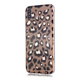 Luipaard TPU iPhone Xs / X Hoesje