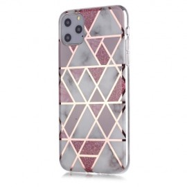 Marble Design TPU iPhone 11 Pro Max Hoesje - Roze